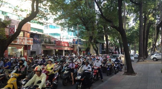 ベトナムの朝