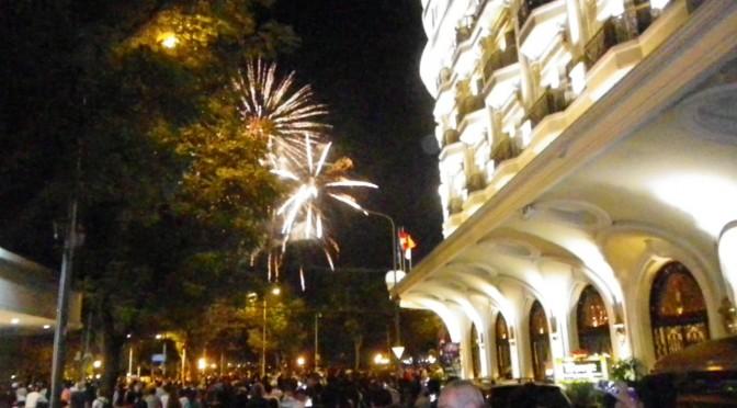 建国記念日の花火