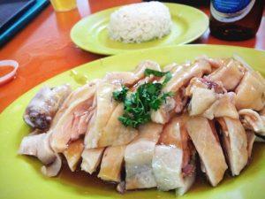 シンガポールの国民食「チキンライス」