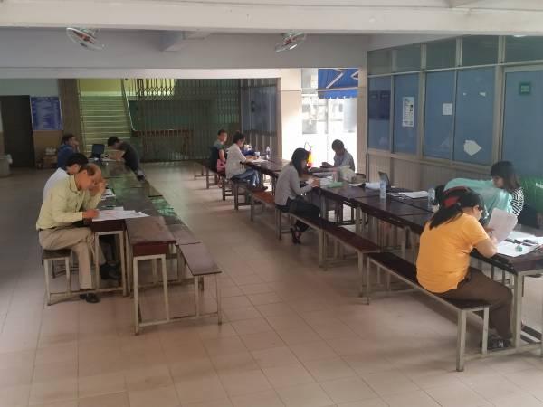 人文社会科学大学の学習スペース