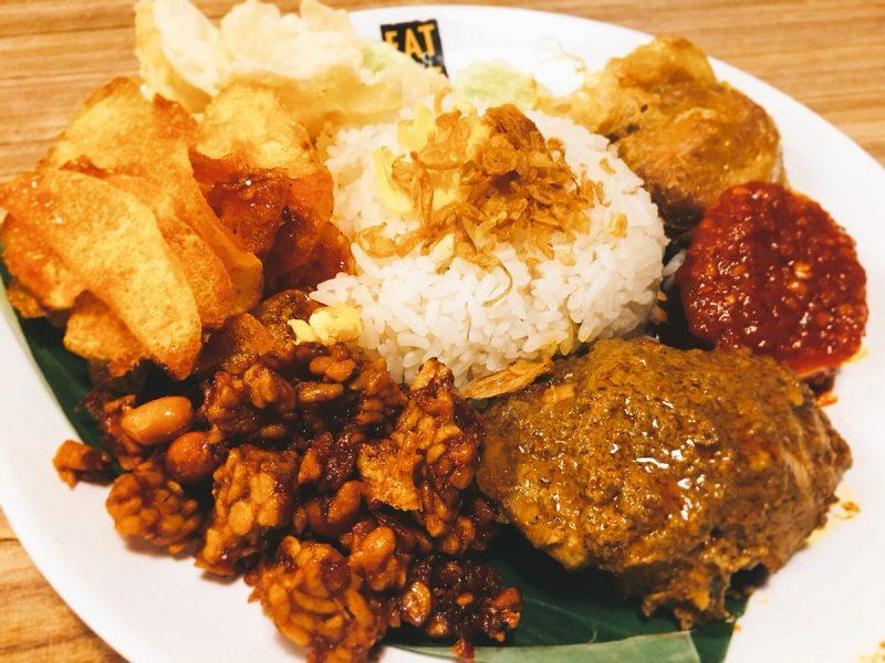 インドネシア料理「ナシレマッ」