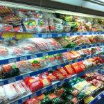 ホーチミンスーパーマーケット 食品売り場