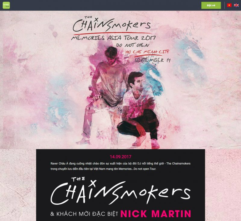 thechainsmokers ticketbox
